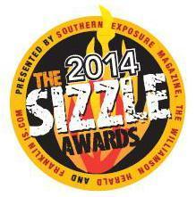 Franklin TN dentists 2014 Sizzle Award recipient
