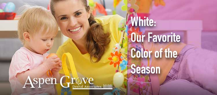 White Favorite Color of the Season for Teeth