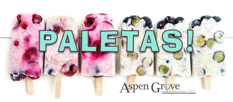 Franklin TN family dentists, Aspen Grove Dental, shares a fun, lower-calorie, lower-sugar content, summer treat recipe, as an alternative to ice cream and popsicles.