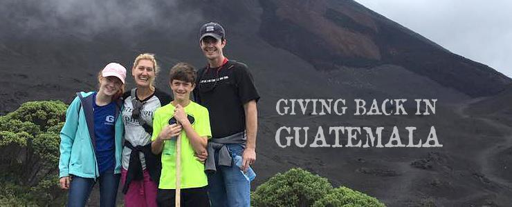 Dr Hutchinson DDS family on dentistry mission trip in Guatemala June 2016