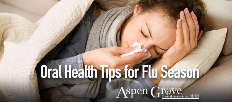 Oral health tips for flu season