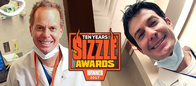 Aspen Grove Dental wins 2017 Franklin TN Sizzle Award!
